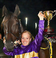 Blacks a Fake and Natalie Rasmussen Inter Dominion win